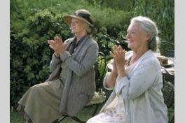 ラヴェンダーの咲く庭での画像