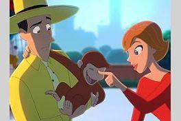 おさるのジョージ Curious Georgeの画像