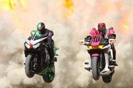 仮面ライダー×仮面ライダー W(ダブル)&ディケイド MOVIE大戦2010の画像