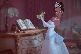 プリンセスと魔法のキスの画像