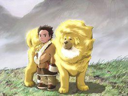 チベット犬物語 金色のドージェの画像