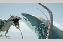 シャークトパス VS プテラクーダの画像
