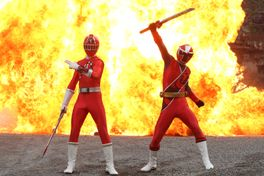 手裏剣戦隊ニンニンジャーVSトッキュウジャー THE MOVIE 忍者・イン・ワンダーランドの画像