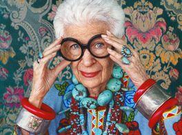 アイリス・アプフェル!94歳のニューヨーカーの画像