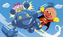 それいけ!アンパンマン おもちゃの星のナンダとルンダの画像