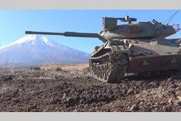 アトラクション4D 戦車ライドの画像