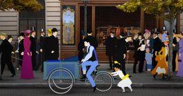 ディリリとパリの時間旅行の画像