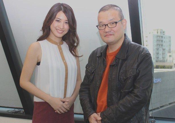 『ホワイトリリー』のヒロイン、飛鳥凛と中田秀夫監督