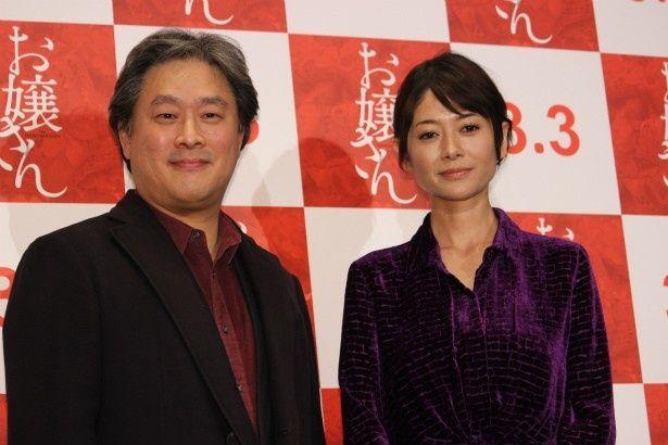 『お嬢さん』のパク・チャヌク監督と真木よう子