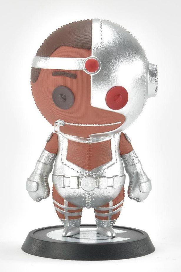 サイボーグの機械感もしっかり雰囲気から伝わってくる(「Cutie1:キューティ1 サイボーグ(コミック) サイボーグ」)