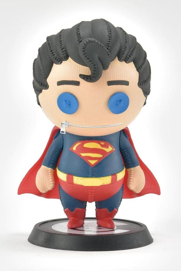 スーパーマンはこんな感じに(「Cutie1:キューティ1 スーパーマン(コミック) スーパーマン」)