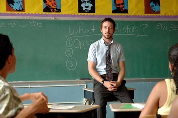 麻薬中毒から立ち直ろうとする中学教師を演じた『ハーフネルソン』