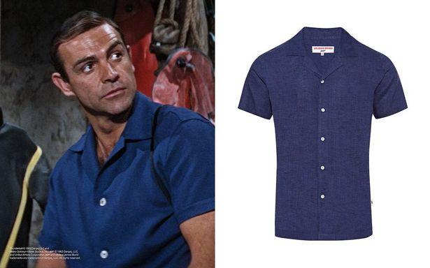 ショーン・コネリーが着た!『007/サンダーボール作戦』のカプリシャツ(39,000円+税)