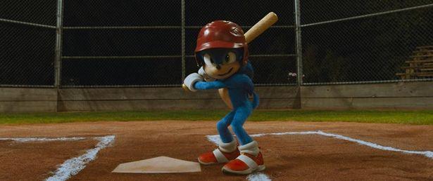 『ソニック・ザ・ムービー』本編よりソニックの一人野球シーンが到着