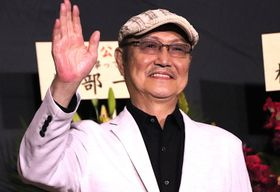 石橋蓮司、18年ぶり主演映画の初日に感無量!「原田芳雄の影を背負って撮影していた」