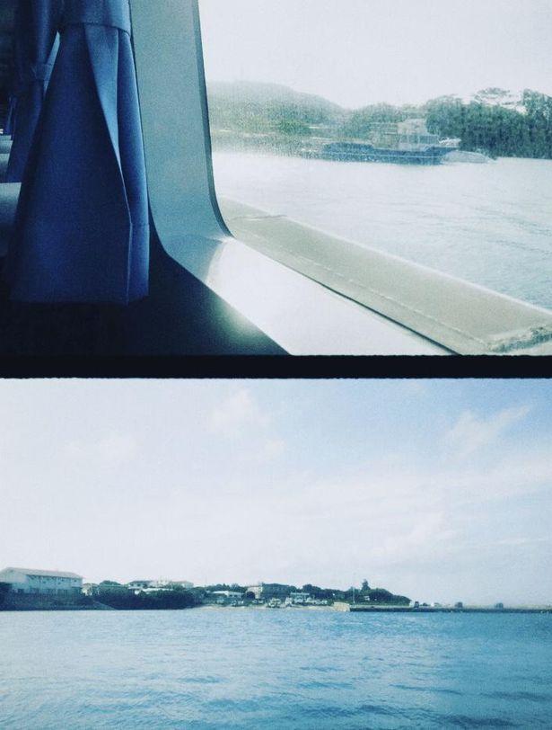 松本監督が撮影したとある島の風景