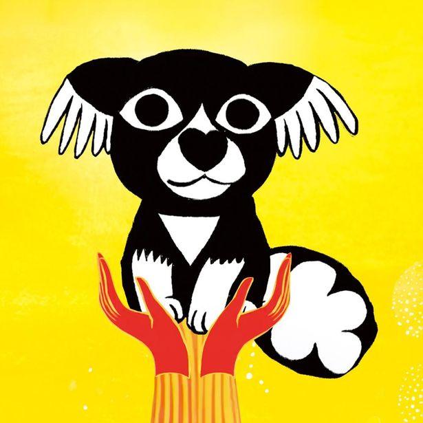 主人公は鼻の形がハートマークのミックス犬マロナ(『マロナの幻想的な物語り』)