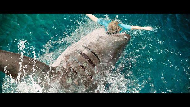 こんなのに襲われたら、ひとたまりもない…(『海底47m 古代マヤの死の迷宮』)