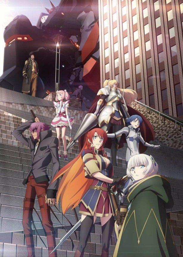 「BLACK LAGOON」の広江礼威さんと、「Fate/Zero」「アルドノア・ゼロ」のあおきえい監督によるオリジナルアニメ「Re:CREATORS(レクリエイターズ)」