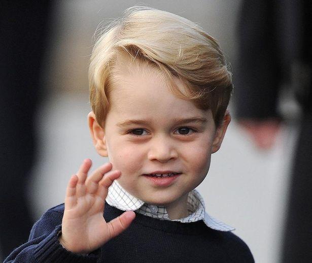 ジョージ王子最新の写真が大反響