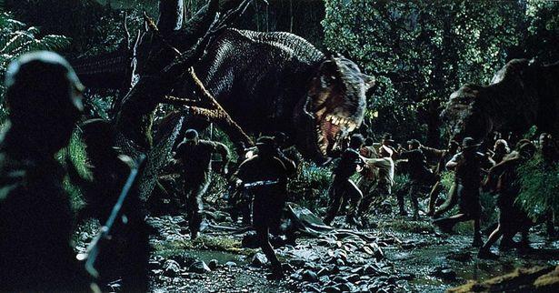 恐竜の動きも複雑化した(『ロスト・ワールド/ジュラシック・パーク』)