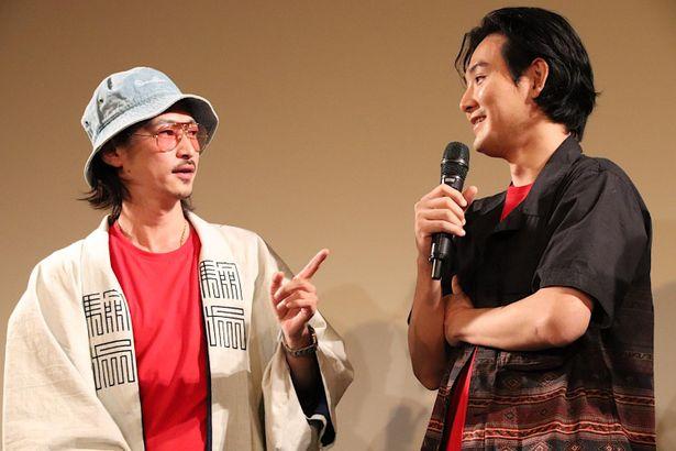 窪塚洋介と松田龍平が初共演!