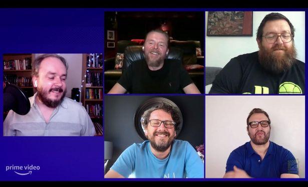 ニック・フロストとサイモン・ペッグが共演する超常現象ホラーコメディ「Truth Seekers」