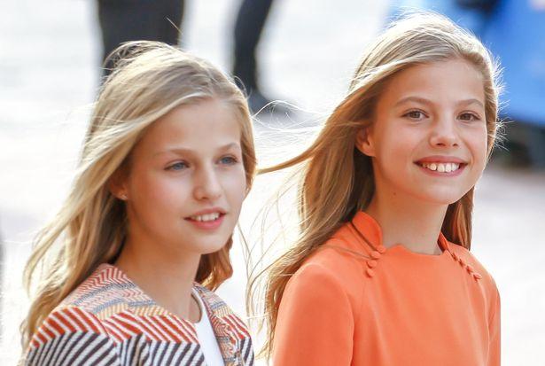 スペインの王女姉妹が新しいヘアスタイルで公務に登場