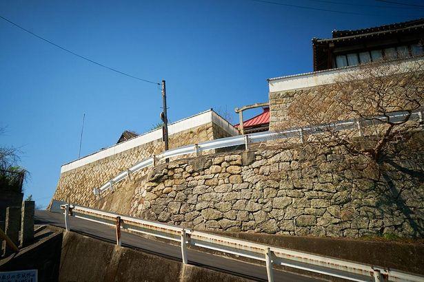 『さびしんぼう』劇中のままの、坂道や階段