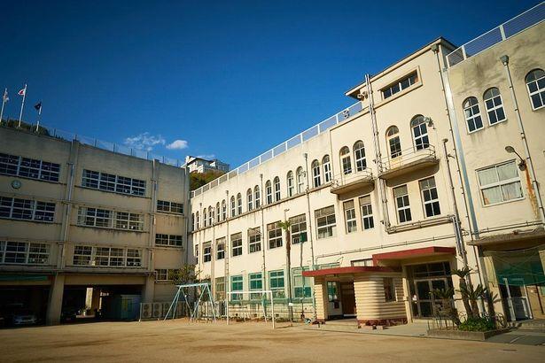 大林監督の母校である、土堂小学校