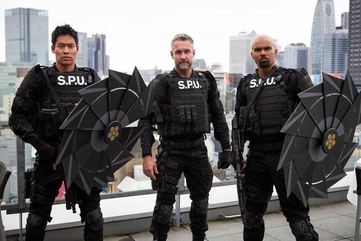 日本の番傘をイメージした防御盾も登場!