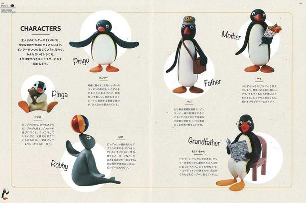 コウテイペンギンのキャラクターがかわいい「ピングー」