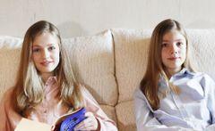 スペインの王女姉妹が母と3人でお揃いヘアスタイルを披露