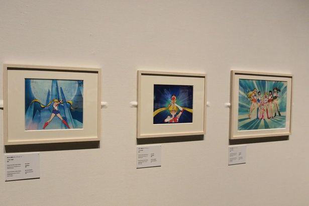 「美少女戦士セーラームーン」のセル画など