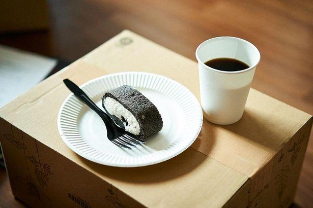 おいしいケーキとおいしいコーヒー