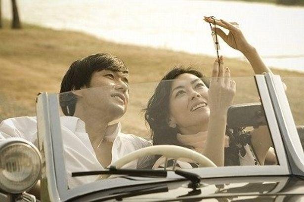 中山美穂12年ぶりの主演映画『サヨナライツカ』で相手役を務める西島秀俊