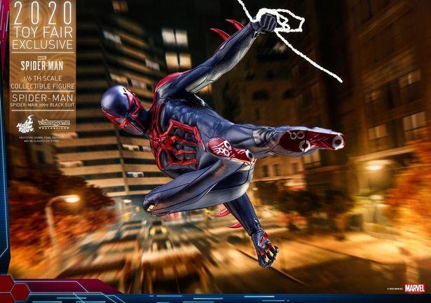 イベントで手に入れたいスパイダーマンのナイスなアイテムたち(「【ビデオゲーム・マスターピース】『Marvel's Spider-Man』1/6スケールフィギュア スパイダーマン(スパイダーマン2099ブラック・スーツ版)」)