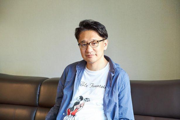にこやかに自作について語ってくれた、荒木伸二監督