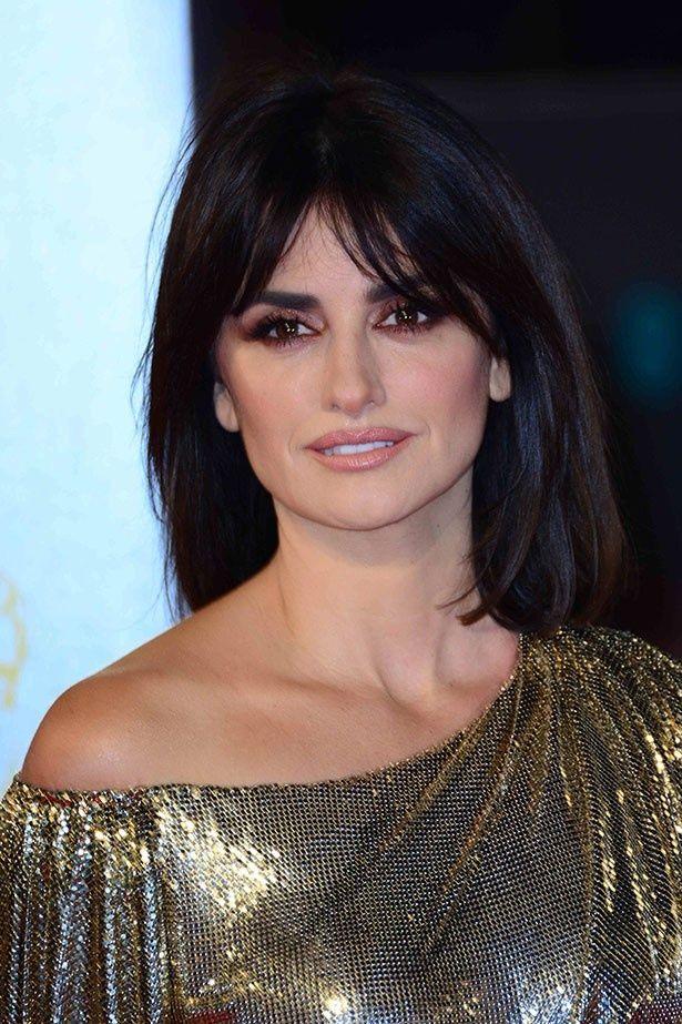 スペイン人女優のペネロペ・クルスが英国アカデミー賞に登場