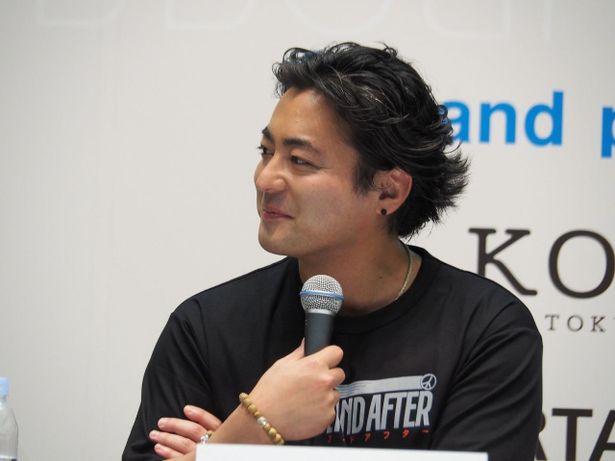 本プロジェクトのプロデューサーを務める山田孝之