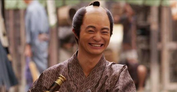 初代内閣総理大臣となる伊藤博文の若かりしころを演じる森永悠希