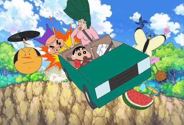 『映画クレヨンしんちゃん 激突!ラクガキングダムとほぼ四人の勇者』が3位