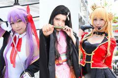 「鬼滅の刃」から「Fate/Grand Order」まで、多彩な作品のコスプレイヤーたちを一挙に紹介!