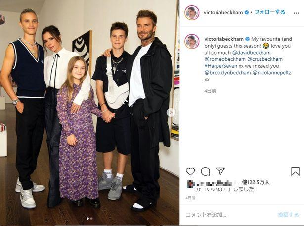 ヴィクトリアの公式Instagramに先日掲載された写真に似ているという指摘も?