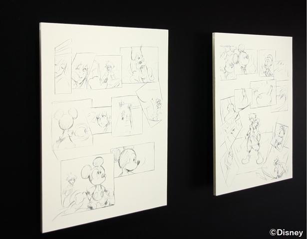 """Tetsuya Nomura """"Sketches from KINGDOM HEARTS Re:coded"""""""
