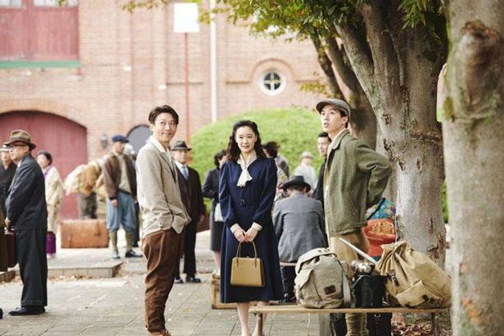 激動の昭和初期を再現した映像世界にも注目だ(『スパイの妻 劇場版』)