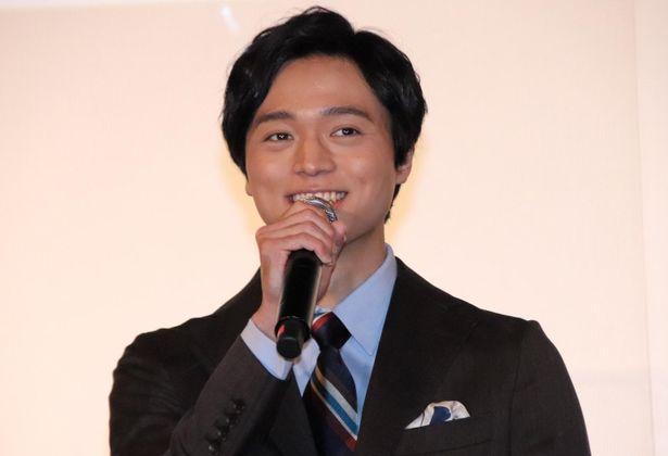 『夜明けを信じて。』初日舞台挨拶に登壇した田中宏明