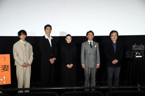 黒沢清監督がキャスト陣の魅力を語った