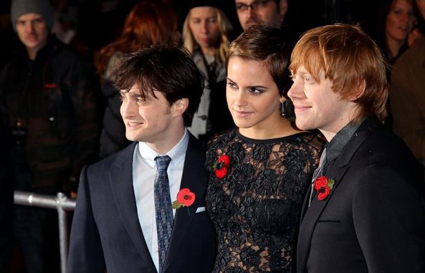 『ハリー・ポッターと死の秘宝 PART1』(10)のプレミアにて、世界的スターとなった3人