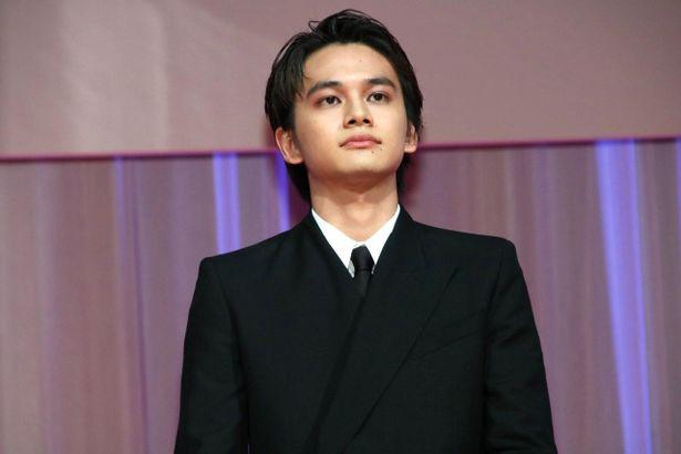 第33回東京国際映画祭のオープニングセレモニーに参加した北村匠海